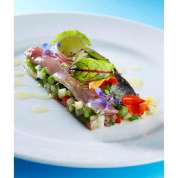 Ceviche de sardines fraîches aux légumes