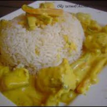 Lotte au curry :