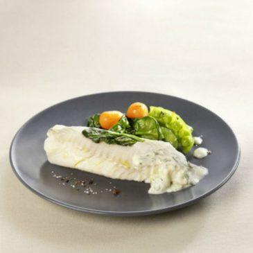 Filet d'églefin aux légumes de printemps