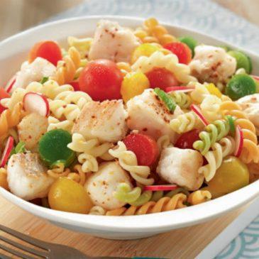 Salade fraîche de merlu